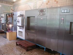 Sterilisationsanlage im Bezirkskrankenhaus Jagotin
