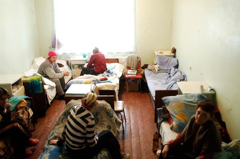 Krankenzimmer in der Ukraine